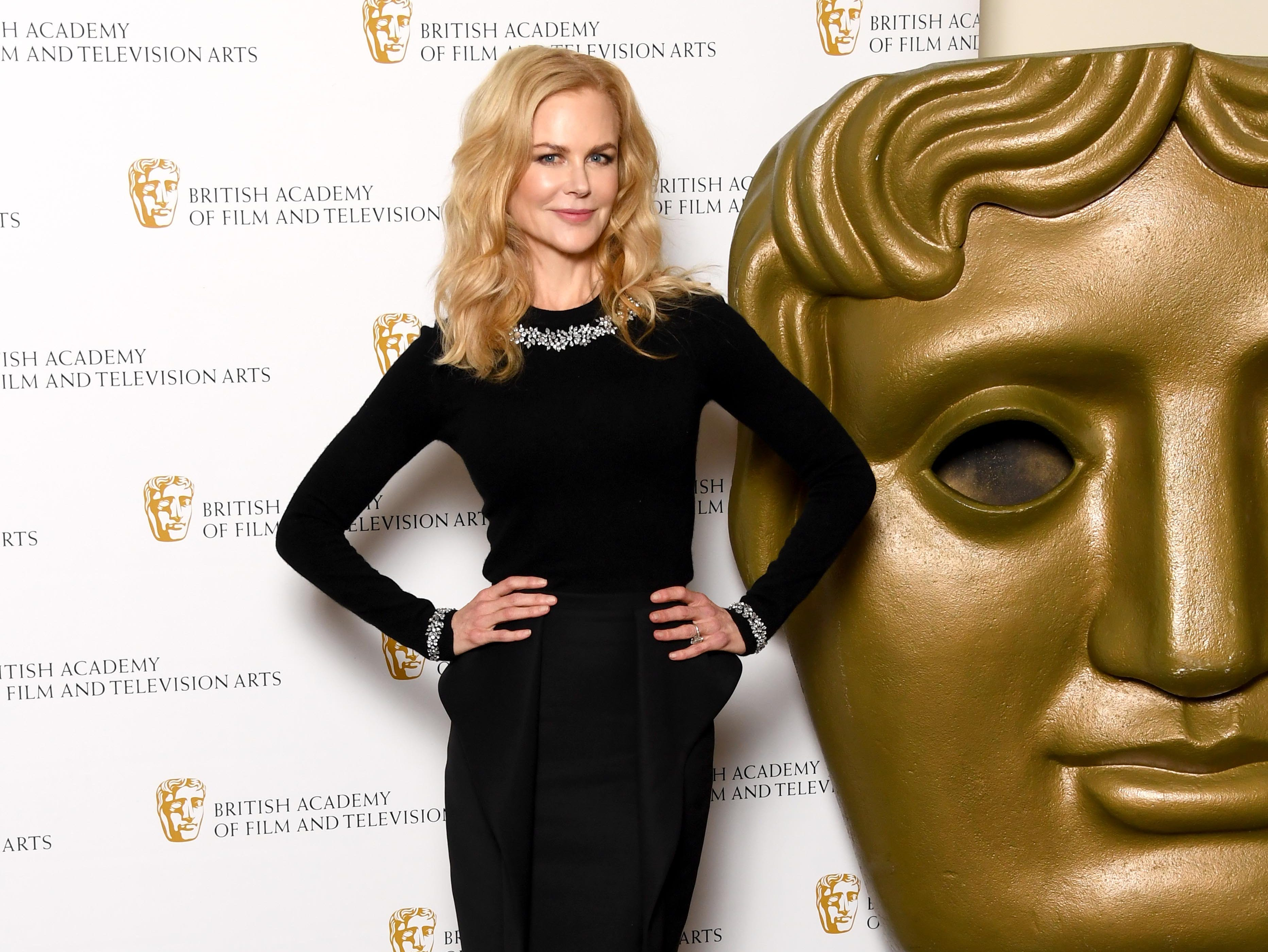 """Nicole Kidman poses during a photocall ahead of her """"A Life In Pictures"""" retrospective at BAFTA on Nov. 21, 2018, in London."""