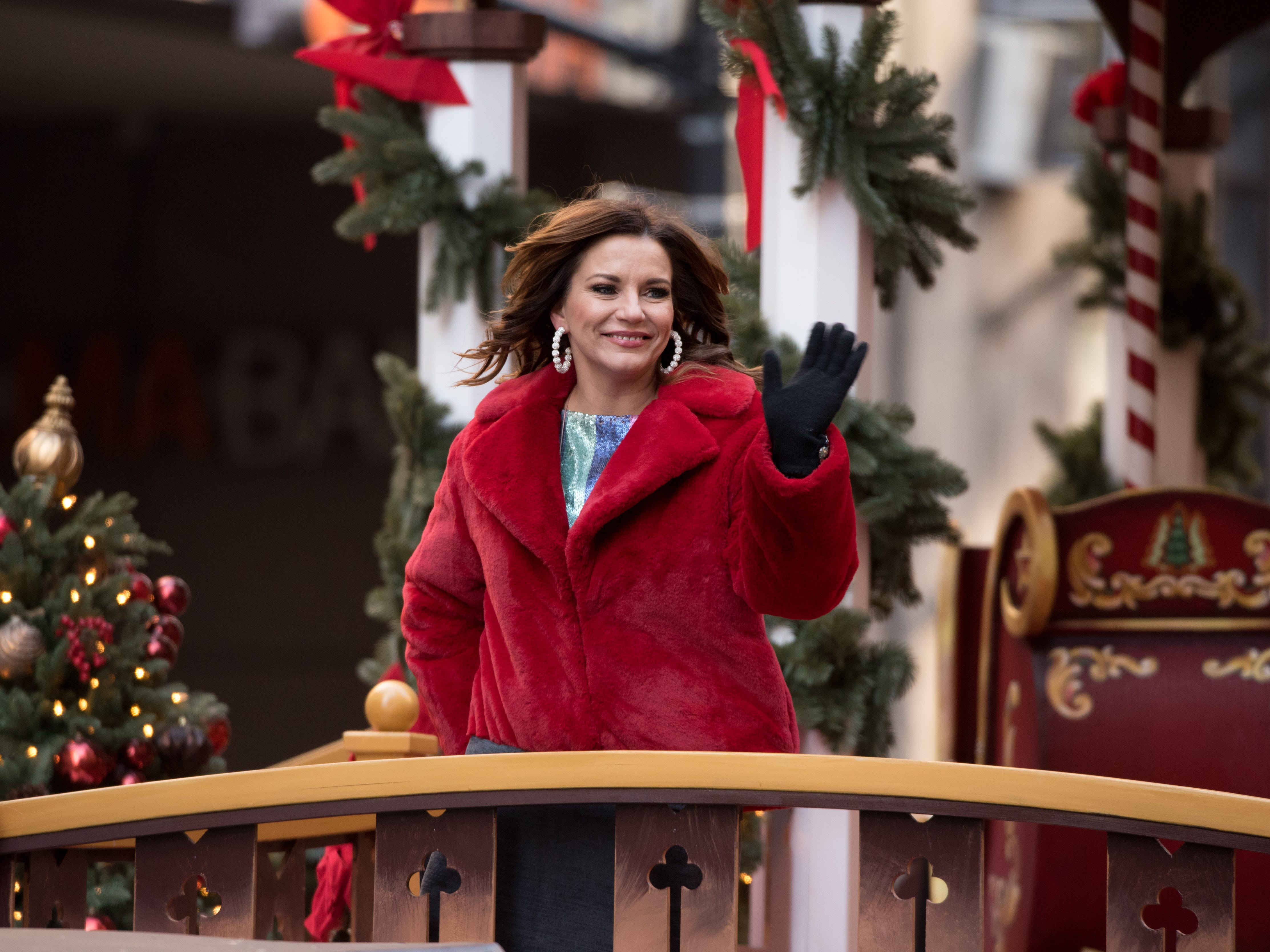 NEW YORK, NY - NOVEMBER 22: Martina McBride attends the 2018 Macy's Thanksgiving Day Parade on November 22, 2018 in New York City.  (Photo by Noam Galai/FilmMagic) ORG XMIT: 775240086 ORIG FILE ID: 1064338568