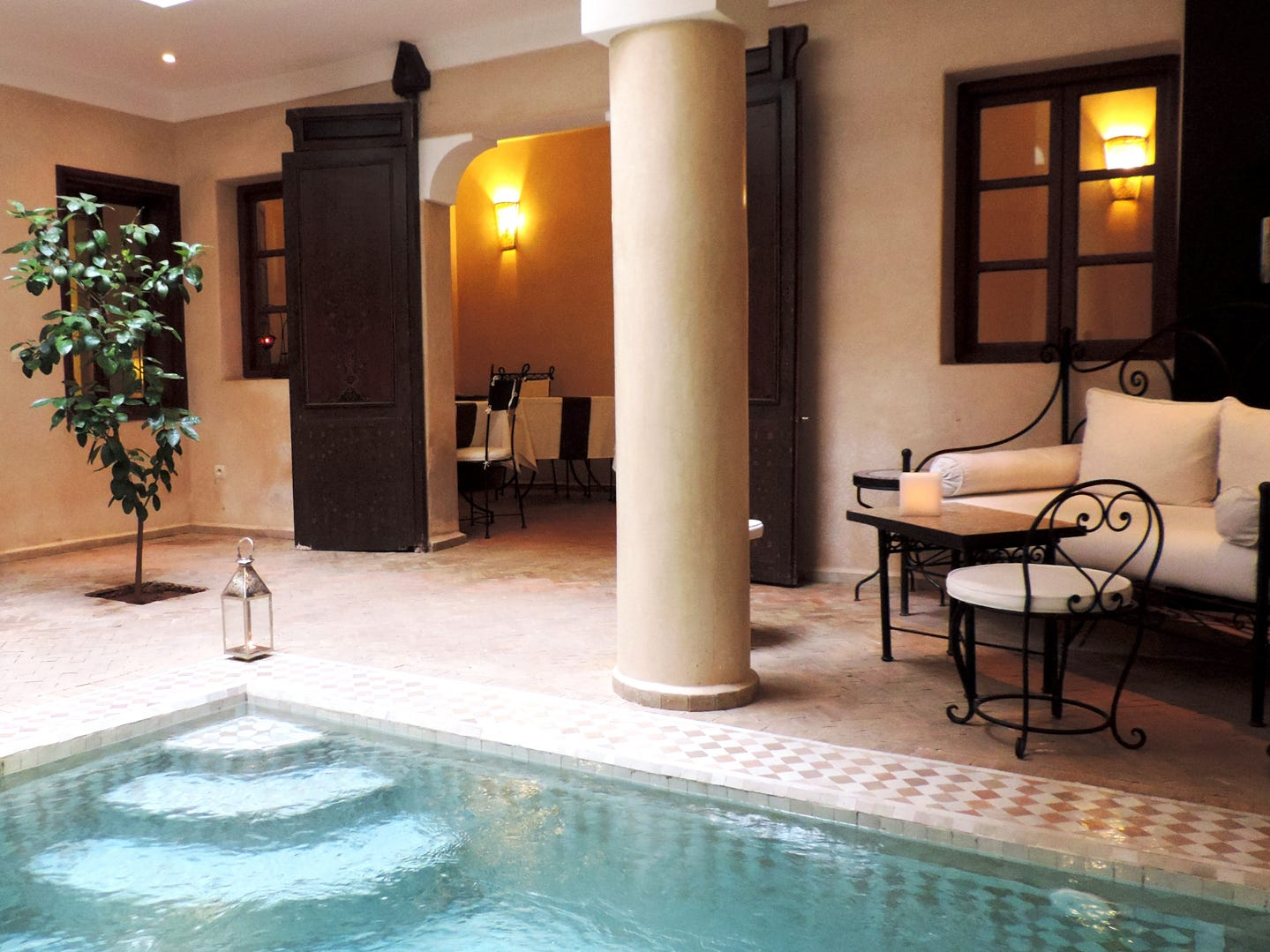 Riad Al Badia, from $131 per night. If you're searching for hotel deals, Morocco is a great bargain destination to consider. One of TripAdvisor's top 10 hotels in the country, Riad Al Badia is a traditional bed-and-breakfast in the heart of Marrakesh. You'll be greeted with a welcome tea and Moroccan pastries, and be given all the information on what to do and what to see in Marrakesh before being left to explore. The concierge can coordinate excursions to the Essaouira coast, the Atlas Mountains, waterfalls and even the Sahara desert. There are guided tours of the Medina, hammams and massages, and camel rides to experience .
