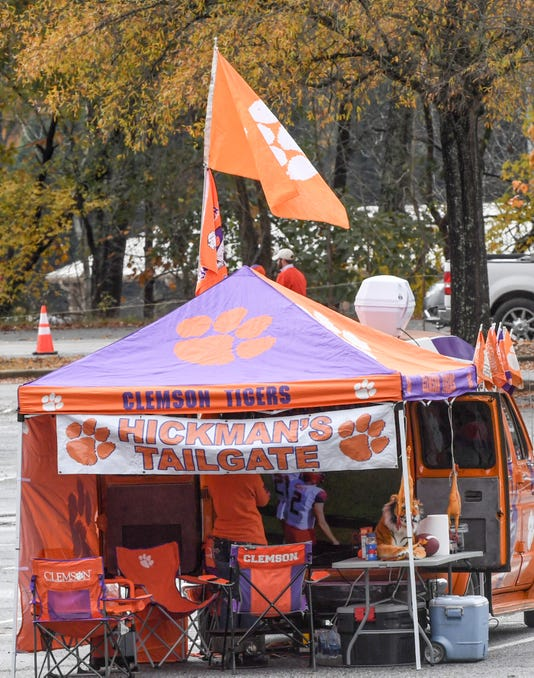 Usc At Clemson Football 2018 Tailgating