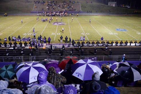 Mitchell defeated Cherokee 21-13 in the second round of playoffs Nov. 23, 2018.