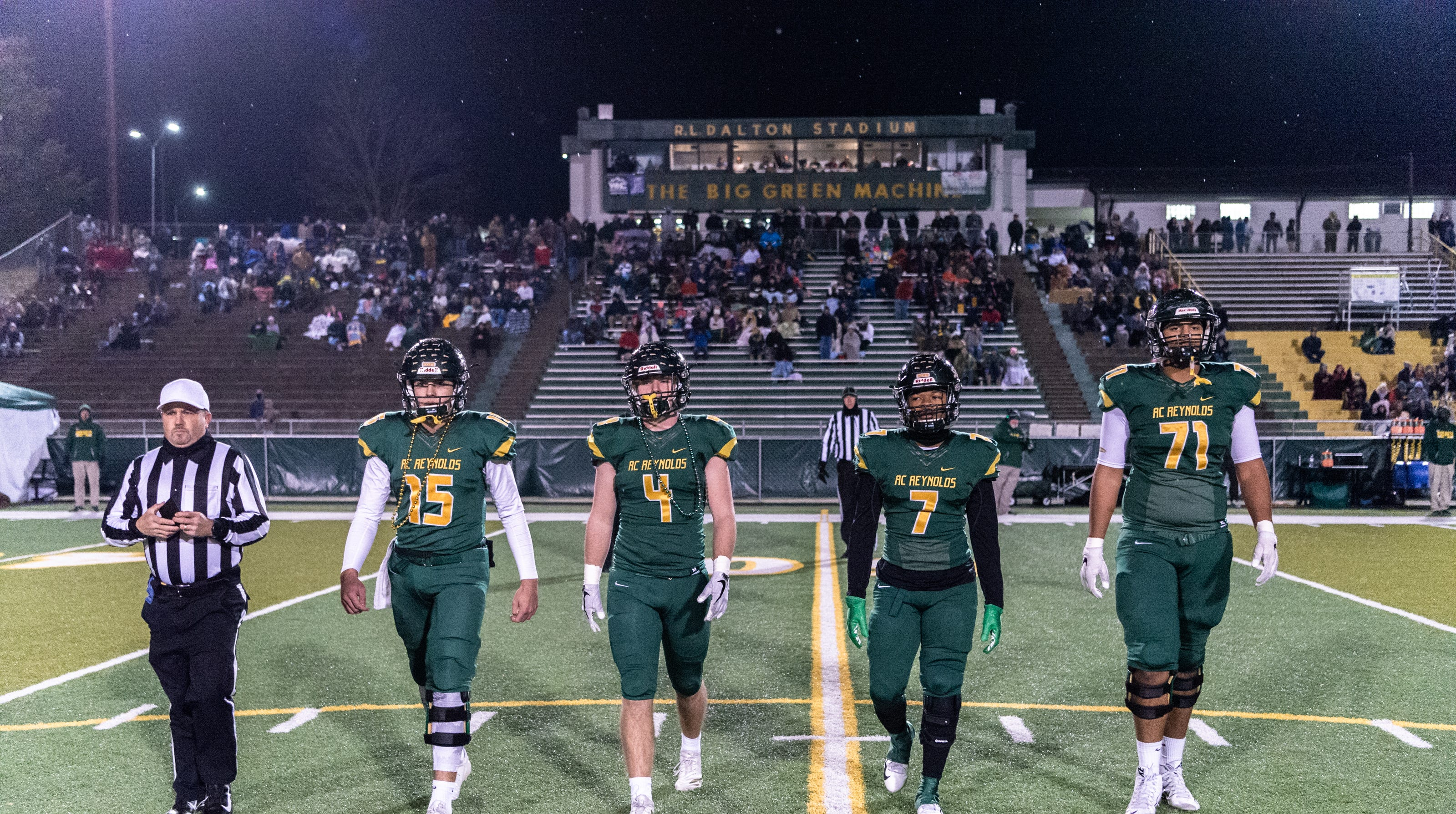 Football Photos 2018 Nchsaa State Playoffs Round 2