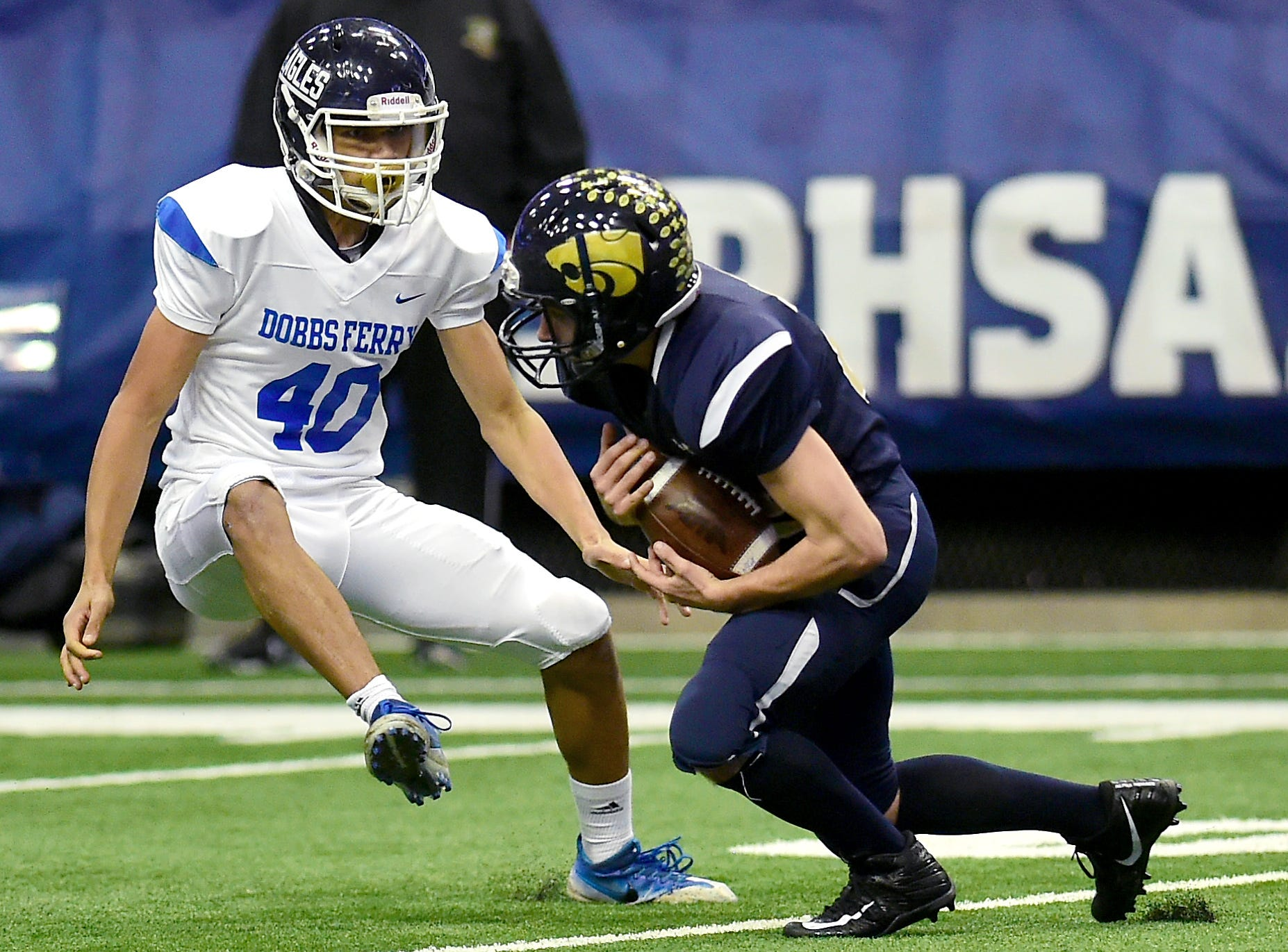Susquehanna Valley vs. Dobbs Ferry, Class C NYSPHSAA state football final, Carrier Dome, Syracuse. Friday, November 23, 2018.