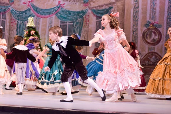 "The 45th edition of Peninsula Dance Theatre's production of ""The Nutcracker,"" accompanied by the Peninsula Ballet Orchestra, has three performances this weekend at the Bremerton Performing Arts Center."