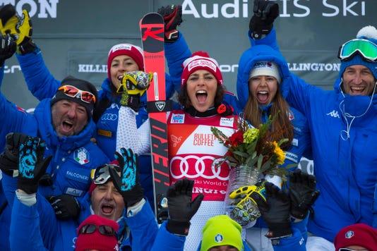 Alpine Skiing 2018 Audi Fis Ski Women S World Cup