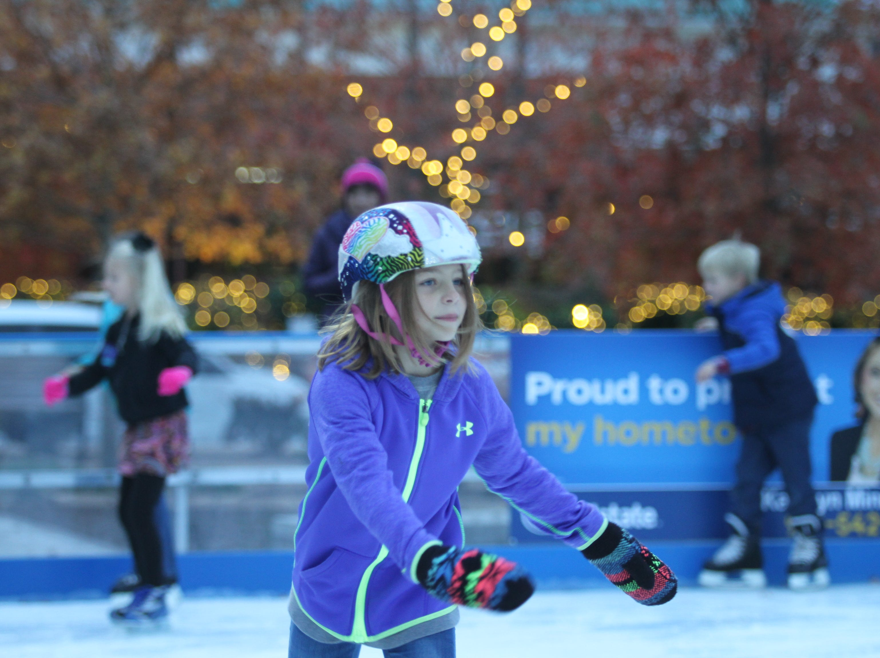 The Downtown Commons Winter Ice Rink officially opened on Friday, Nov. 23, 2018.
