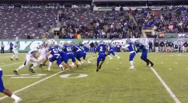 Sayreville defeated Williamstown to win the NJSIAA South Jersey bowl game