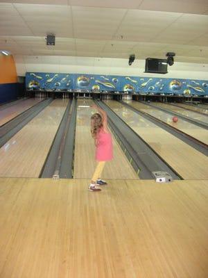 Marisa Tufaro enjoyed bowling at Stelton Lanes in Piscataway
