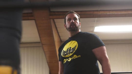 Former WWE star Tommy Dreamer, brings his House of Hardcore promotion  to Woodbridge High School