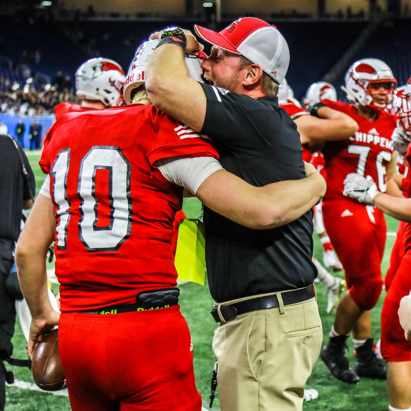 Chippewa Valley's Scott Merchant perseveres, earns coach of year honors