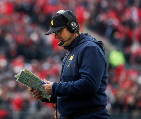 Michigan Football There Was Progress But More Is Needed