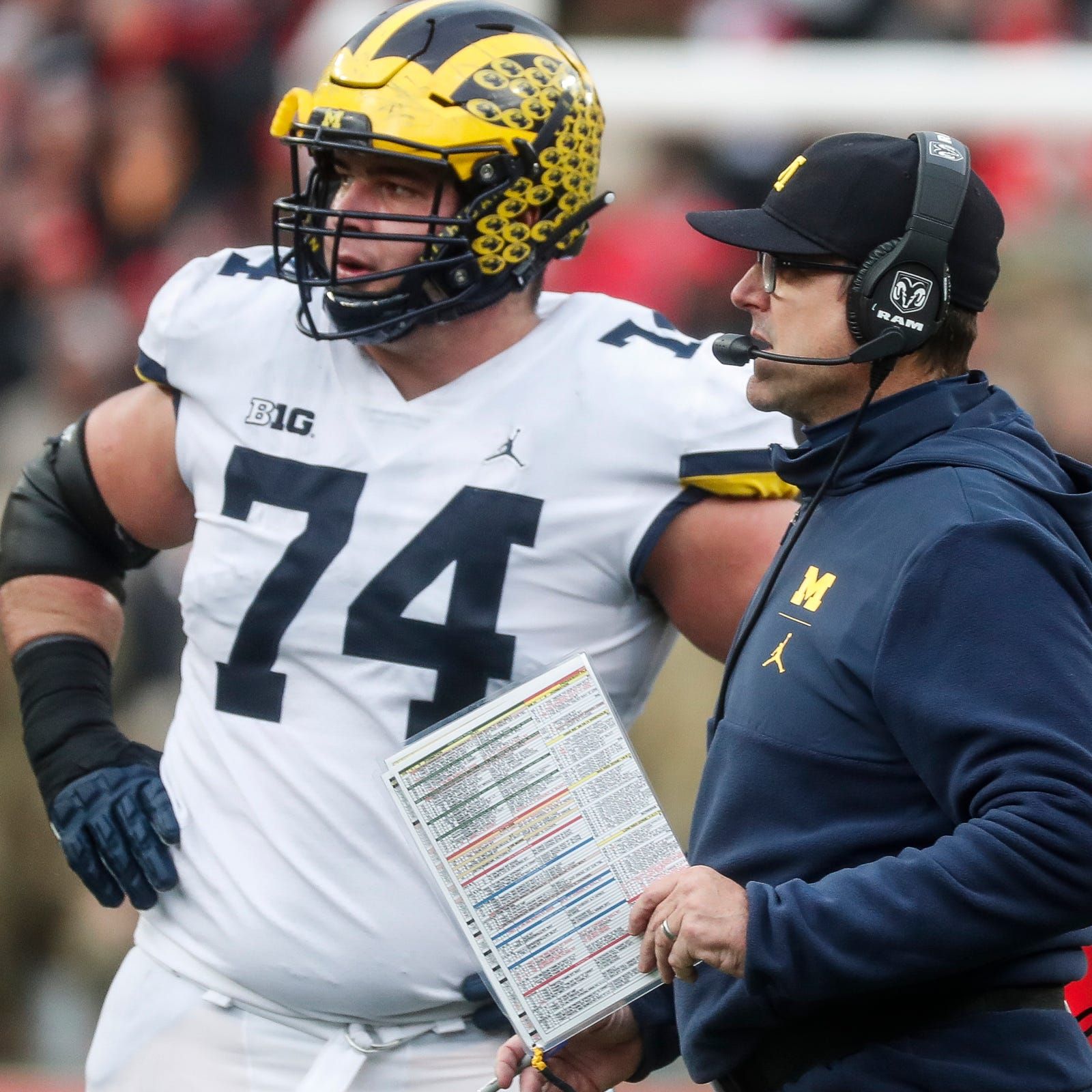 How Michigan's offensive line went from a weakness to a strength