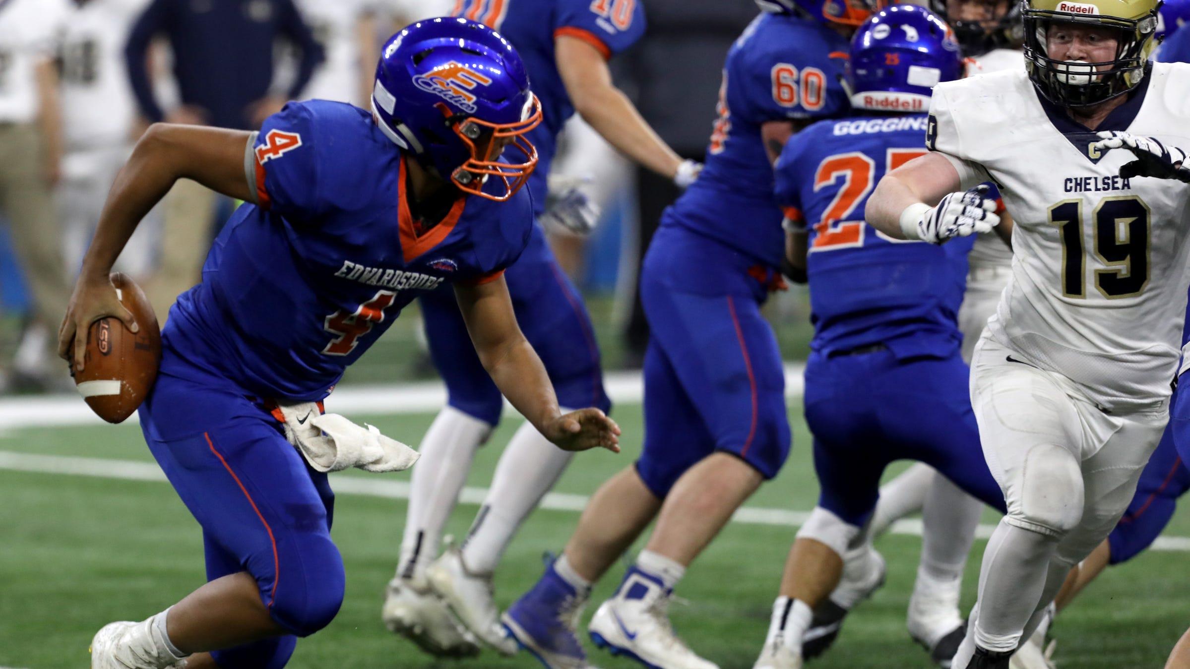 Michigan High School Football Edwardsburg Wins First State Title