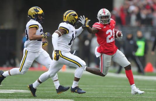 Michigan Footballs Defense Flunks Ohio State Test