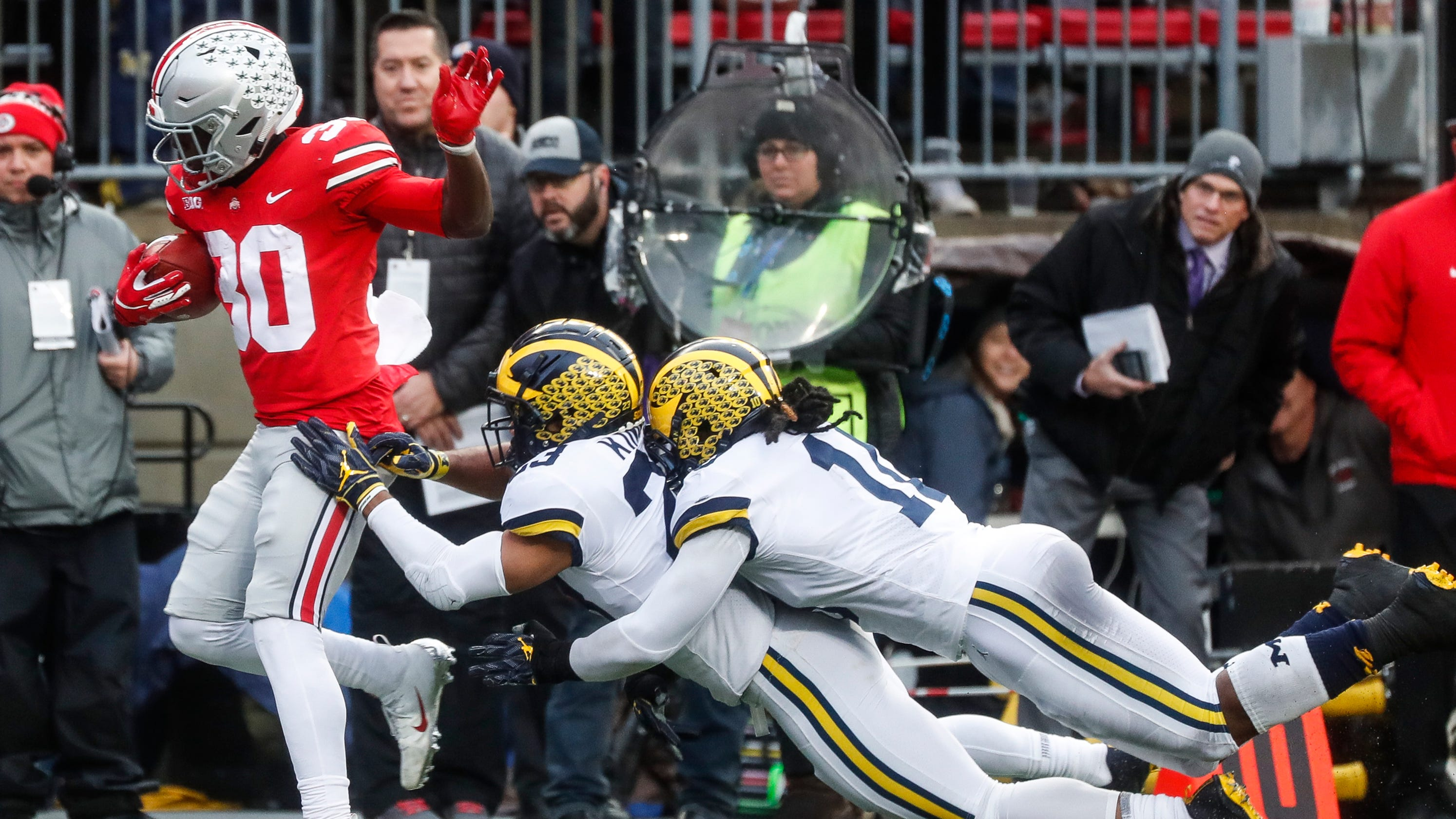 602afc418c8 Michigan football outclassed in historic loss to Ohio State