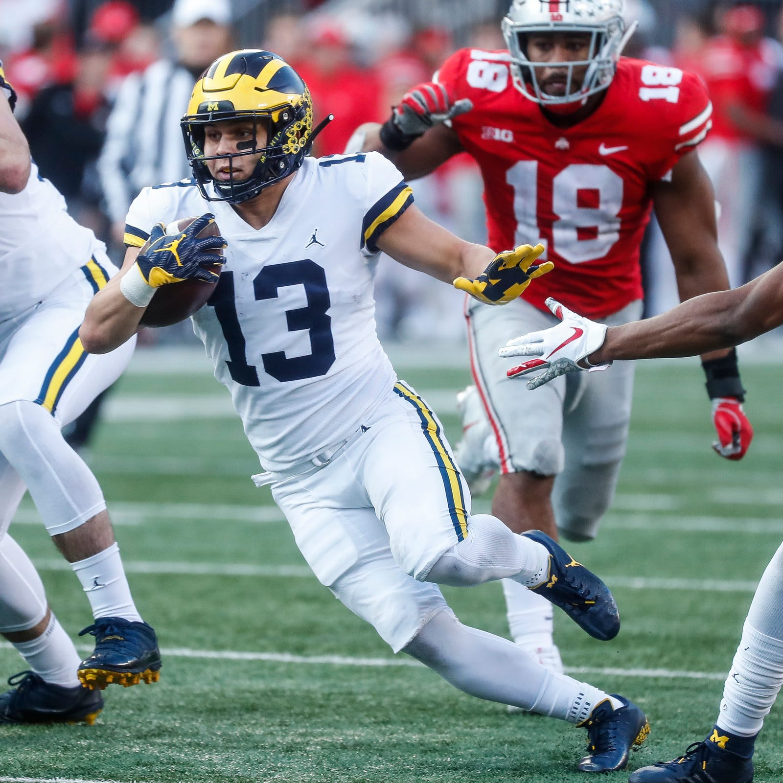 How Michigan is handling injured running backs during spring ball