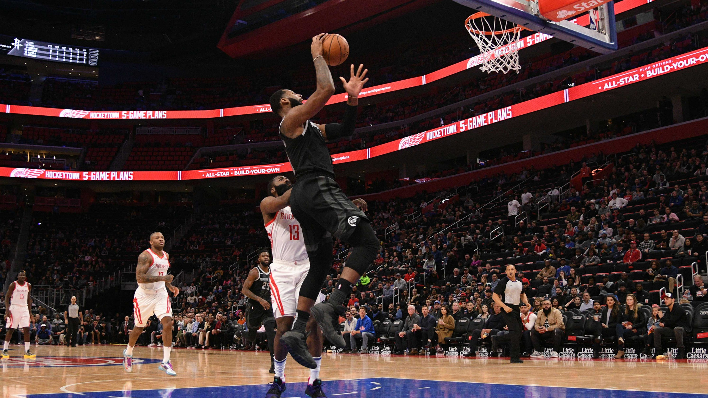 Detroit Pistons score vs. Houston Rockets: Score updates Rockets Score