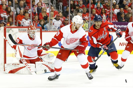 Nhl Detroit Red Wings At Washington Capitals