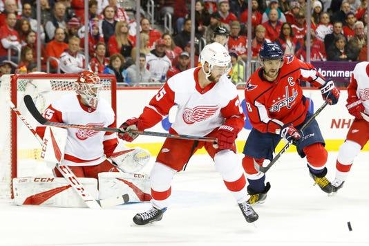Nhl Detroit Red Wings At Washington Capitals