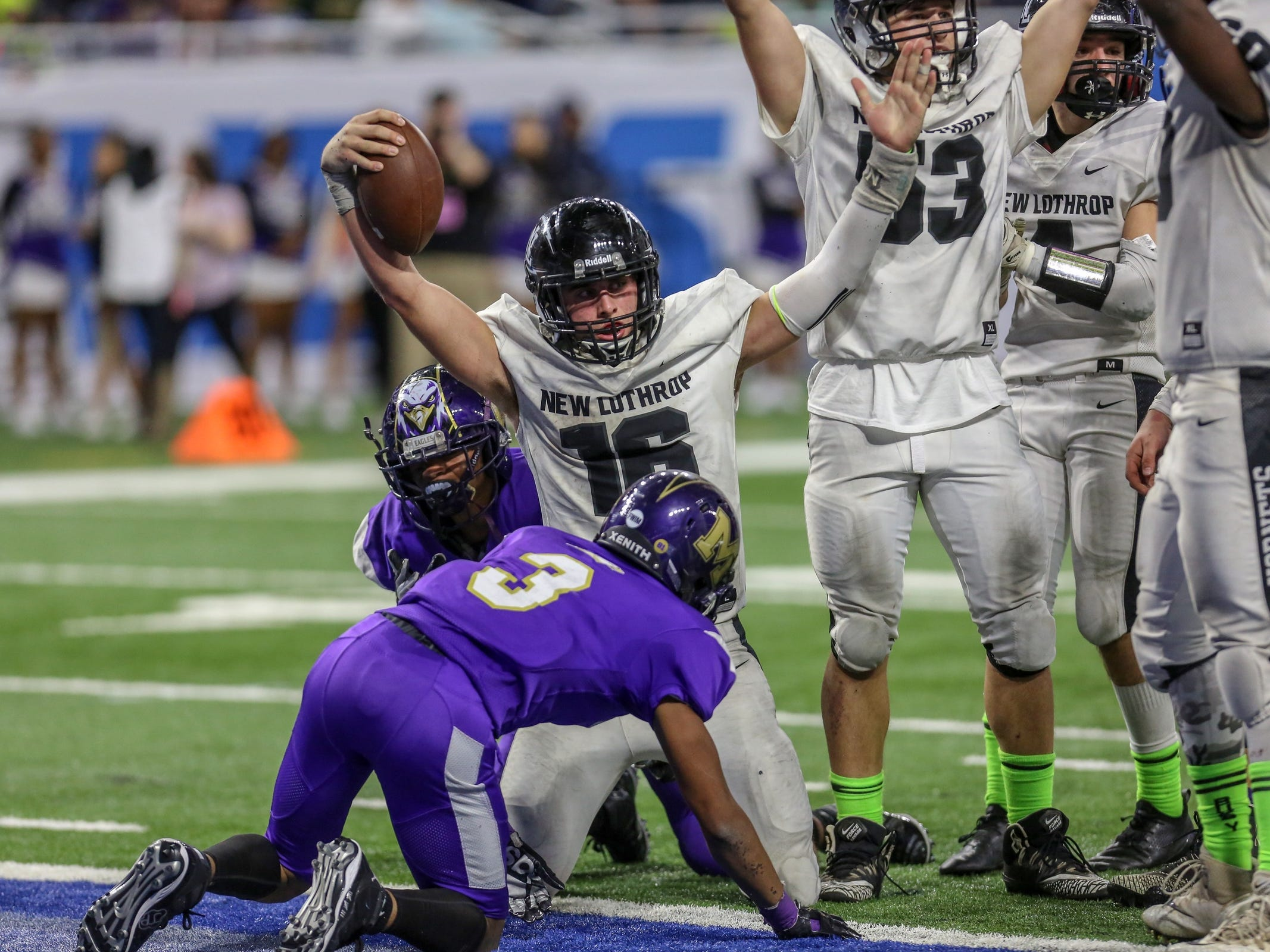 Avery Moore, all grown up, leads New Lothrop to title over M.H. Madison