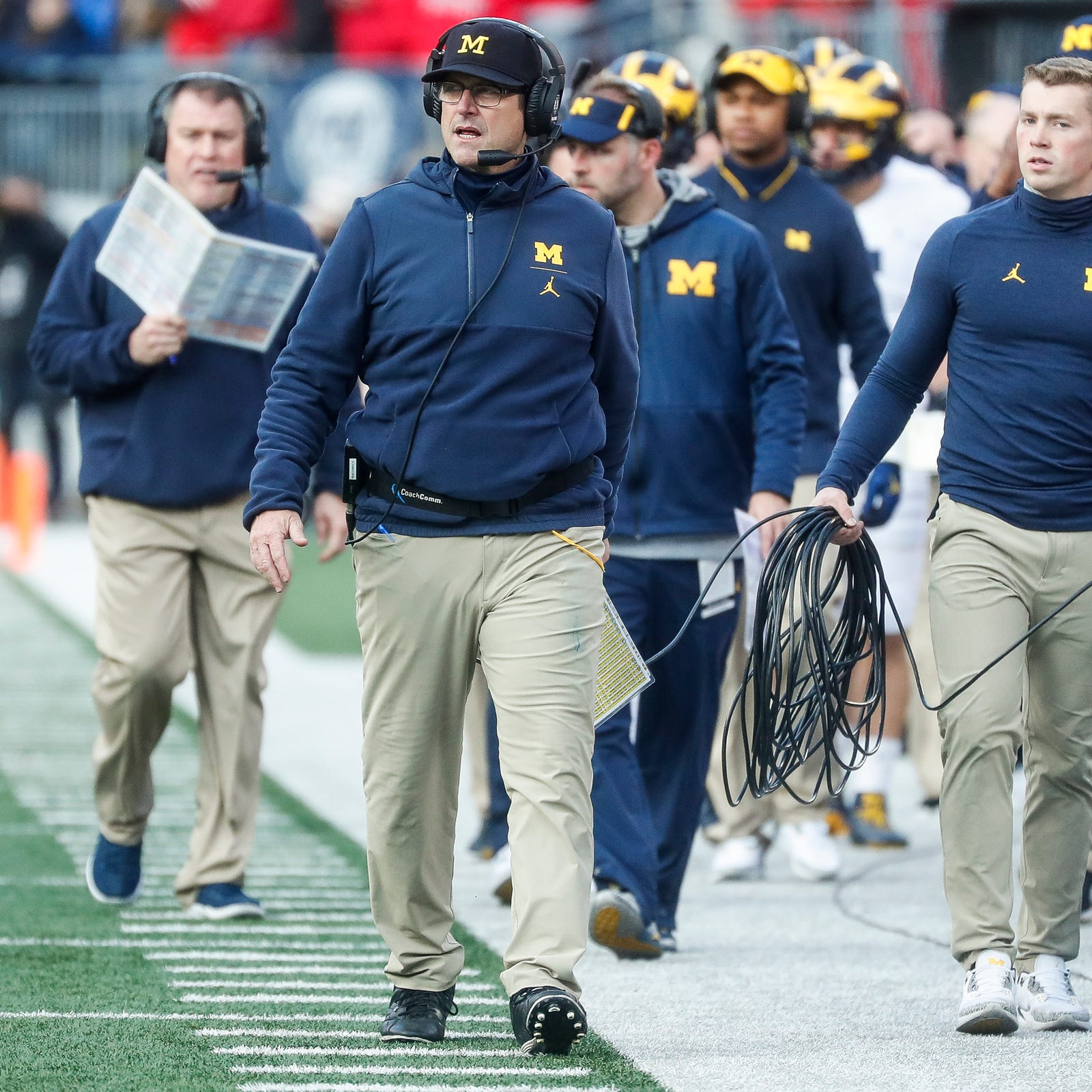 Jim Harbaugh promises fast tempo, less huddle for Michigan football offense