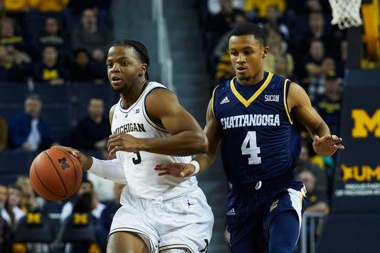 Ncaa Basketball Chattanooga At Michigan