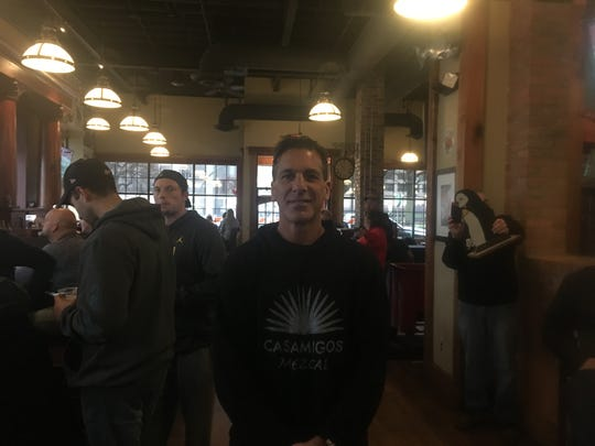 """I moved,"" said Chelios, who hung out at Cheli's Chili on Saturday with dozens of others as they said goodbye during the last day of business for the establishment that opened during Super Bowl XL, which Detroit hosted in 2005. ""I decided to go back to Chicago to take care of my mom."""