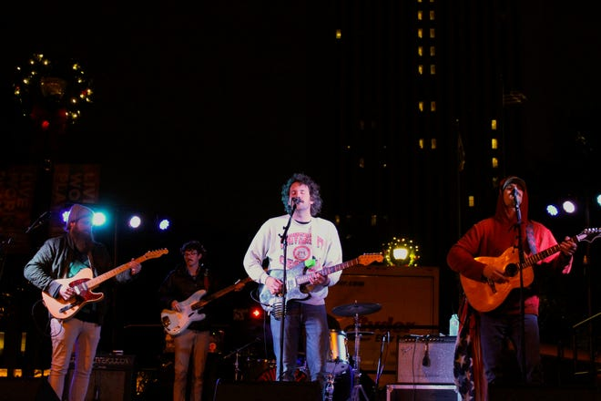 Blending indie rock and country, the Futurebirds were an appropriate band to headline Tallahassee's Downtown GetDown.