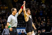 Iowa's Mitch Bowman opened the season in a reserve role, but is 2-0 while competing at 197 pounds. The senior will compete at 174 at the upcoming Midlands Championships.