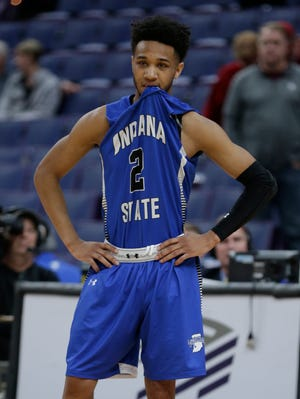 FILE – Indiana State's Jordan Barnes scored 17 points against Western Kentucky on Saturday.