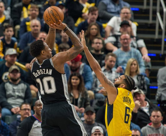 Nba San Antonio Spurs At Indiana Pacers
