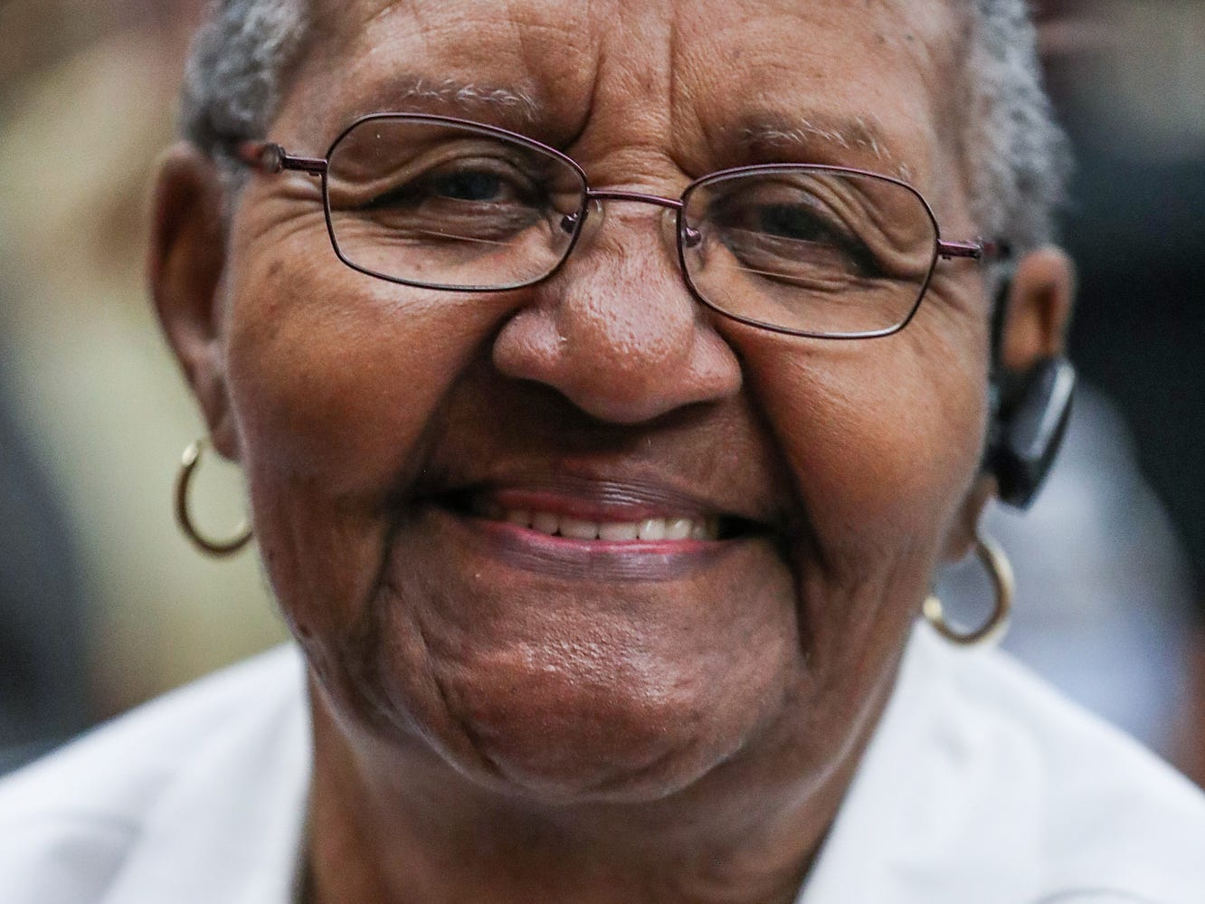 Frances Ray sells her Mama Ray's Specialty Seasonings at a market showcasing more than 65 women and minority-owned small businesses at the Murat Shrine Temple in Indianapolis, Saturday, Nov. 24, 2018. Ray, a retired nurse, was inspired by a cooking class she took and started the business about a year and half ago.