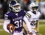 Haywood avenged last year's semifinal loss by blowing out Springfield.
