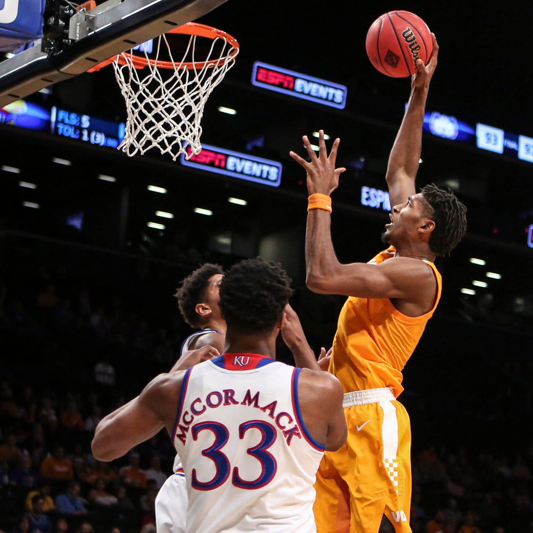 UT Vols basketball: Kansas lessons could help Tennessee against Gonzaga