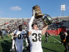 Purdue safety Brennan Thieneman recovers from 'shattered' ankle