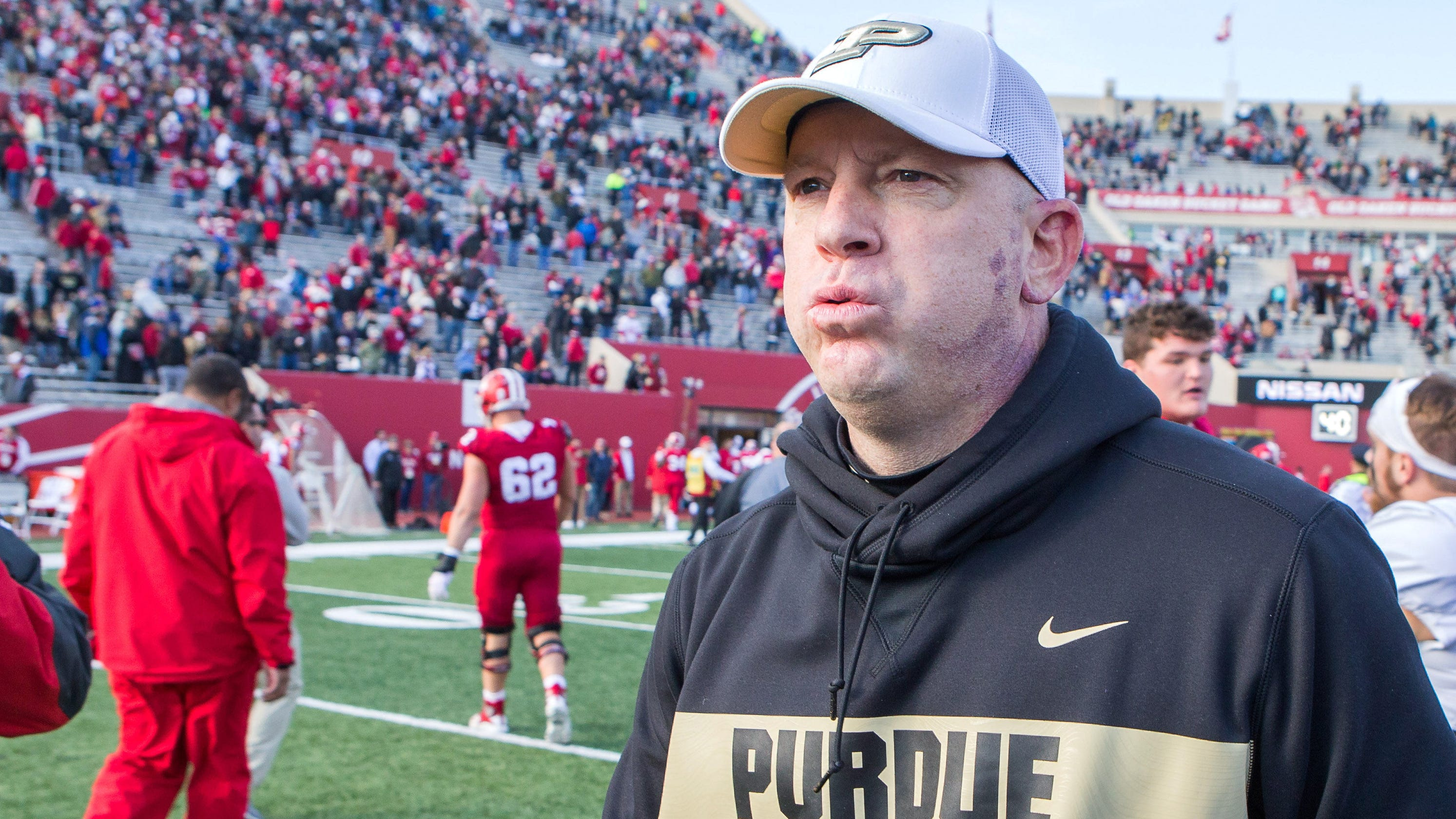 Future of Purdue's football program rests with Jeff Brohm