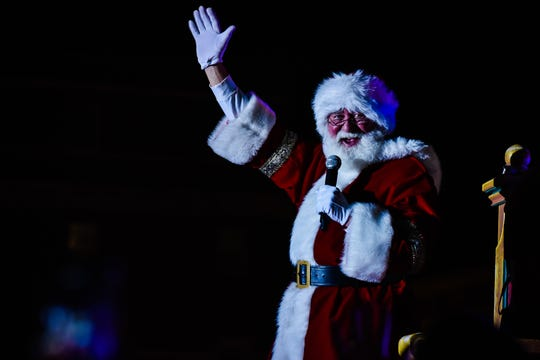 Santa has arrived in Louisville 38th annual Light Up Louisville ,Louisville, Ky. Nov. 23, 2018.