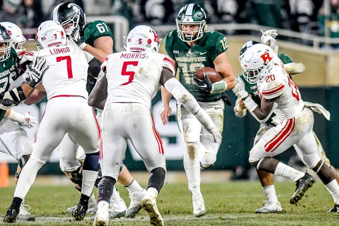 Rocky Lombardi is the most likely Game 1 starter at QB for the Spartans. What MSU gets out of that position will determine a lot of this season.