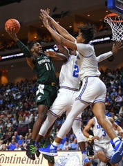 MSU freshman Aaron Henry showed his value to this MSU basketball team during the Spartans' two games last week in Las Vegas.