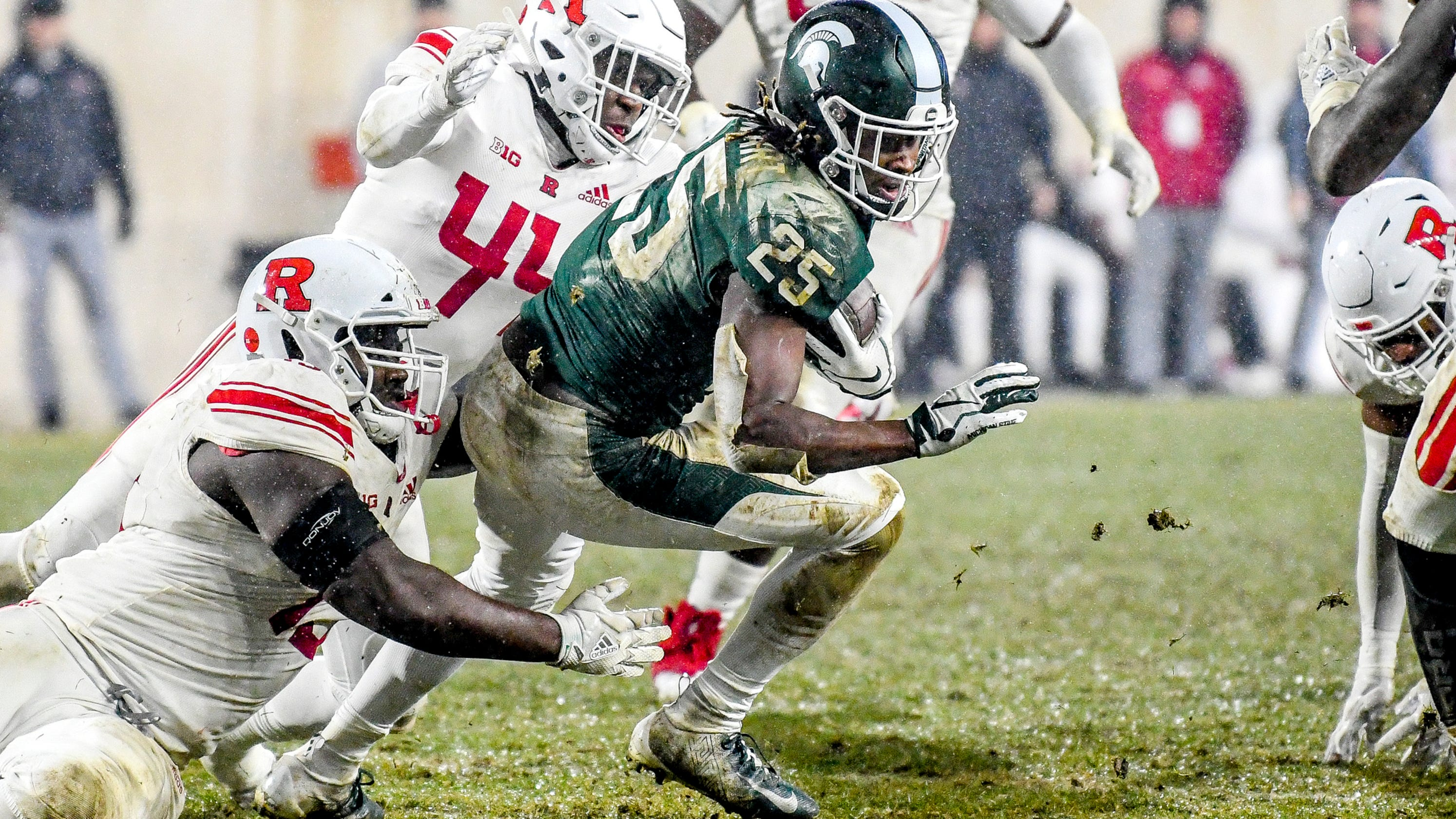 michigan state football survives rutgers 3 quick takes from couch