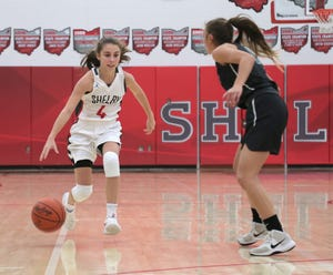 Shelby's Sophia Niese has her Shelby Lady Whippets as the No. 1 team in the Richland County Girls Basketball Power Poll.