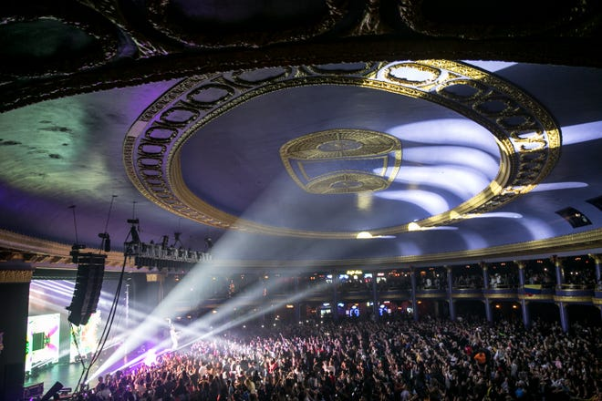 The Rave is one of five struggling Milwaukee concert venues that will host FM102.1's 24-hour radiothon from 5 p.m. Friday to 5 p.m. Saturday.