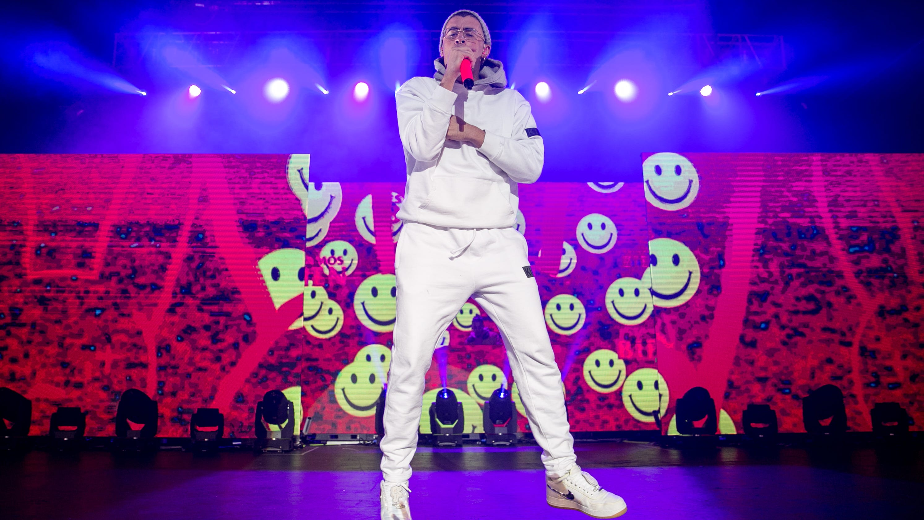 Bad Bunny shows he's ready for megastardom at lively