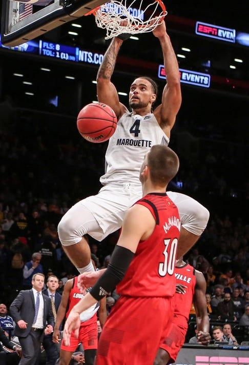 Ncaa Basketball Nit Season Tip Off Louisville Vs Marquette