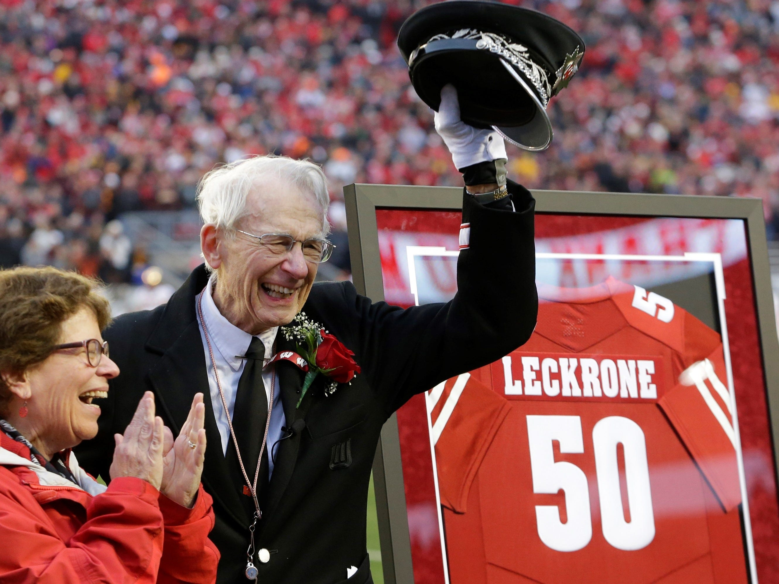 After 50 years leading UW marching band, Mike Leckrone leaves Camp Randall
