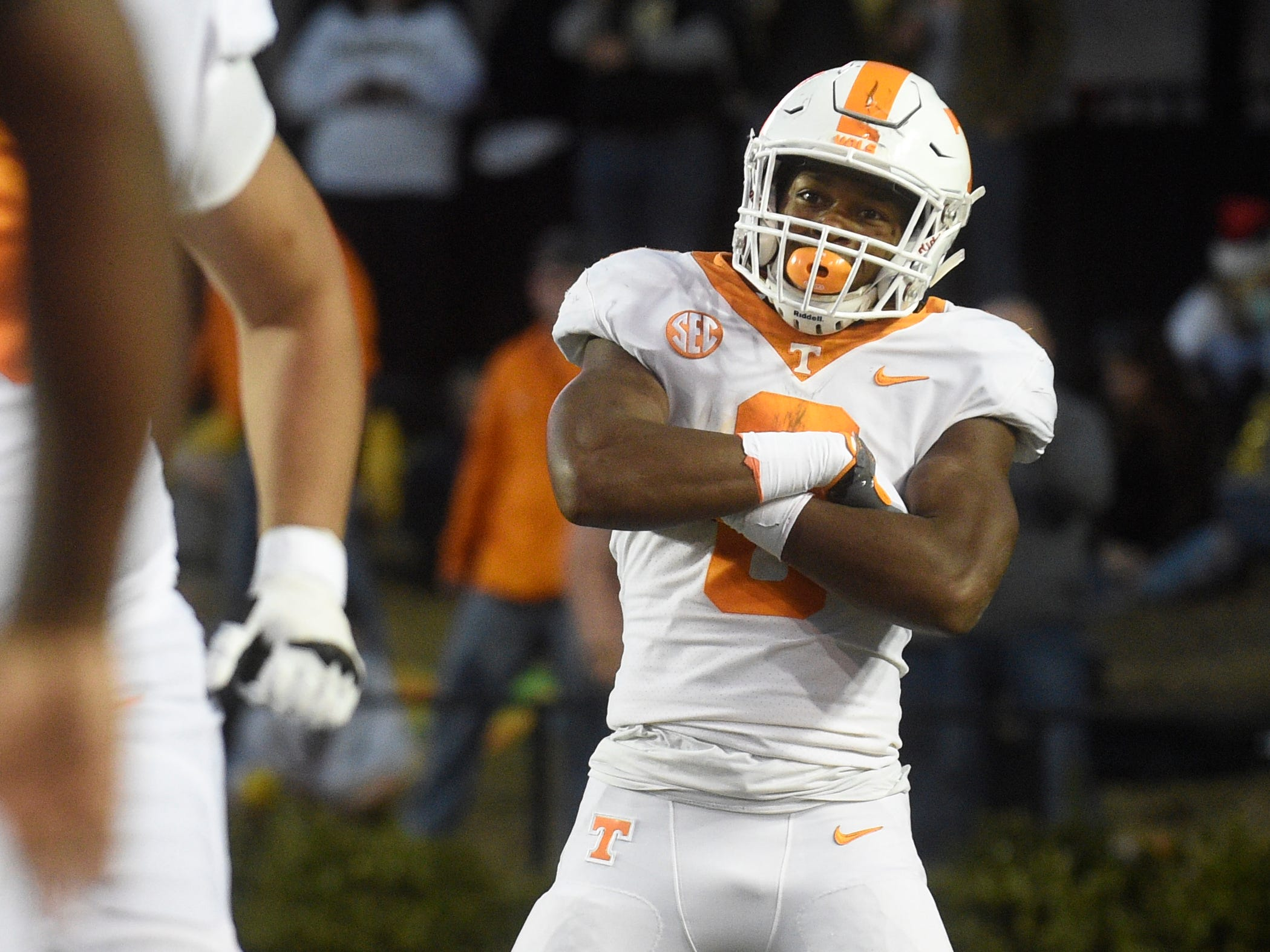 Ty Chandler: The Montgomery Bell Academy alumnus has nine total touchdowns in two seasons with Tennessee.