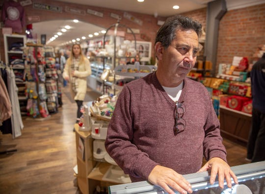 Barry Goffin of Goffin's on Park Ave., in Rutherford talks about expansion and maintaining long-term relationships with customers on Small Business Saturday November 24, 2018 at the Park Ave in Rutherford, NJ.