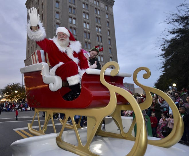 Send Santa off in style as the Christmas season reaches its apex this week in downtown Pensacola.