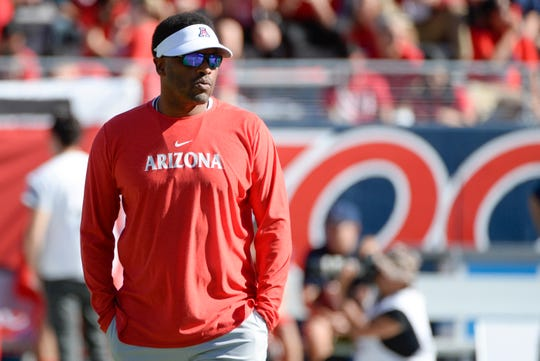 The Arizona Wildcats finished their first season under coach Kevin Sumlin with a record of 5-7.
