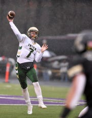 Sophomore quarterback Mitchell Galentine ran for two touchdowns in the second half against Southern Columbia, Saturday, November 24, 2018. John A. Pavoncello photo